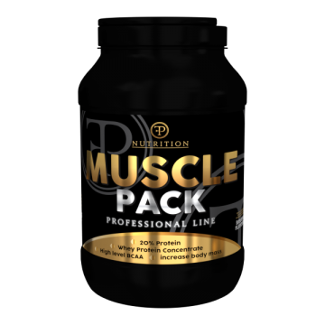 MUSCLE PACK 2000g Banan